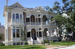 Historical Home in Galveston's East End Historical District