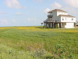 Single Family Beach Side Home on Galveston's West End (SF/BS)